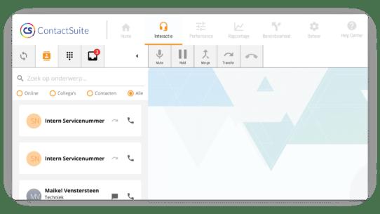 ContactSuite Interactiemodule