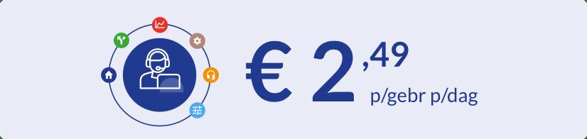 Betalen naar gebruik bij ContactSuite Professional